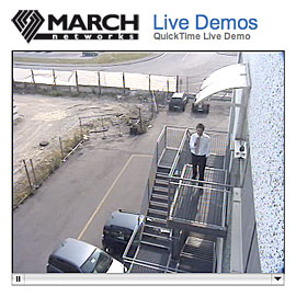 Link to March Networks live demo